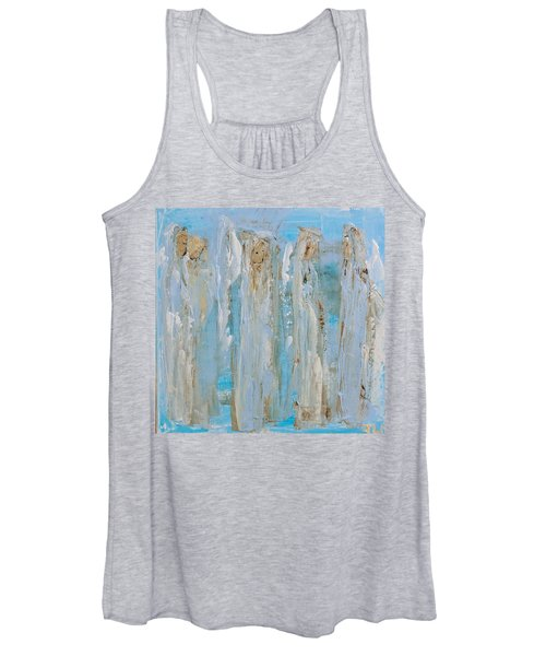 Angels Coming Together Women's Tank Top