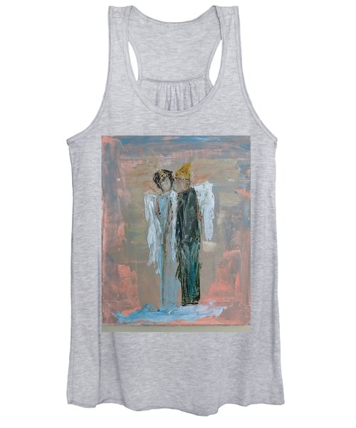 Angels In Love Women's Tank Top