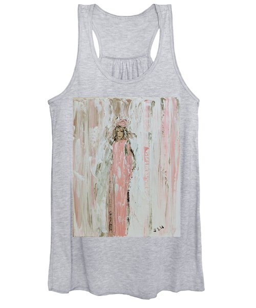 Angels In Pink Women's Tank Top