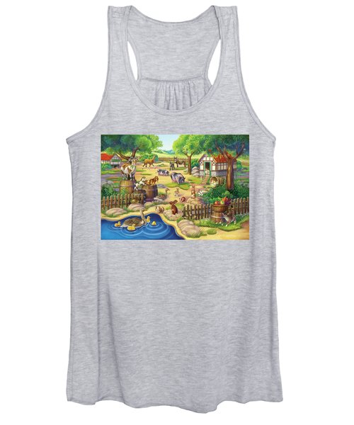 Animals At The Petting Zoo Women's Tank Top