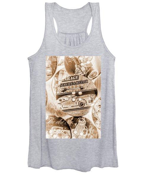 Antique Service Industry Women's Tank Top