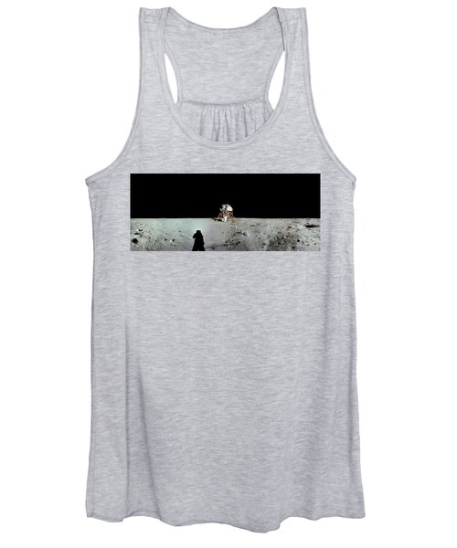 Apollo 11 Panorama Of The First Men Women's Tank Top