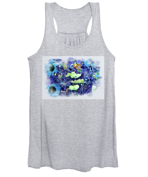 Aqua Blue Women's Tank Top