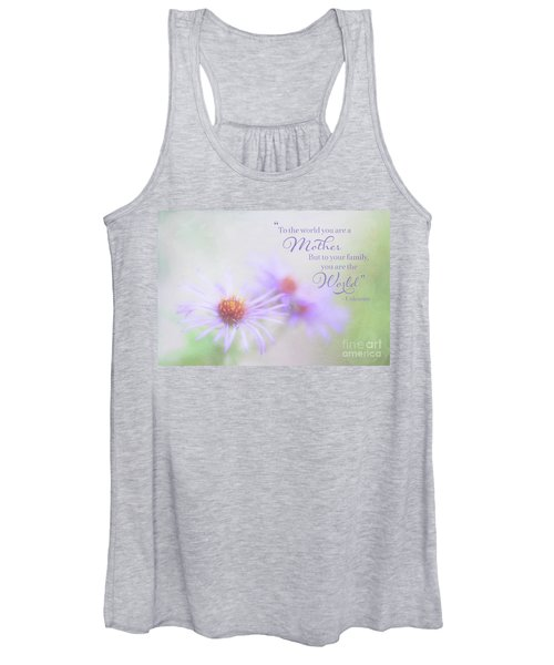 Asters For Mother's Day Women's Tank Top