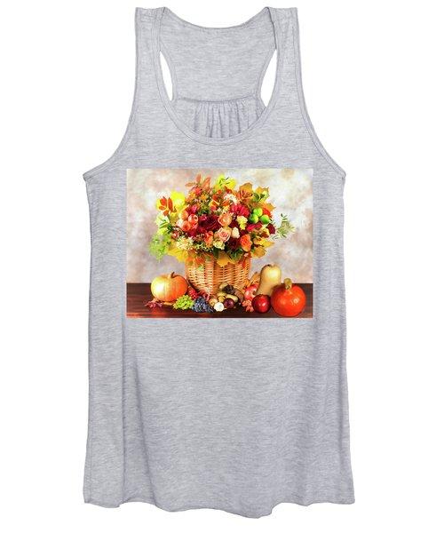 Autum Harvest Women's Tank Top
