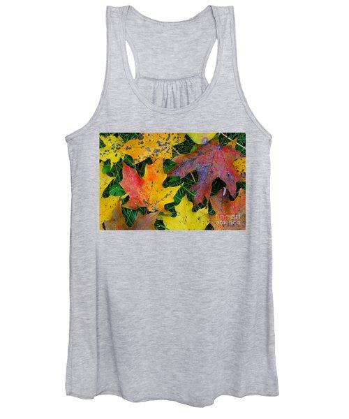 Autumn Leaves Women's Tank Top