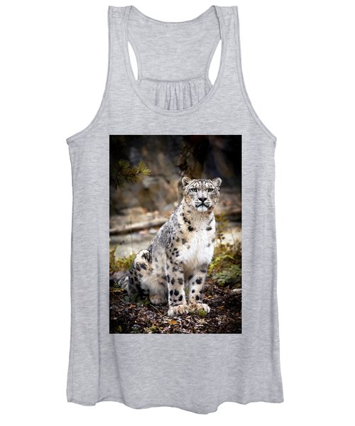 Autumnalleopard Women's Tank Top