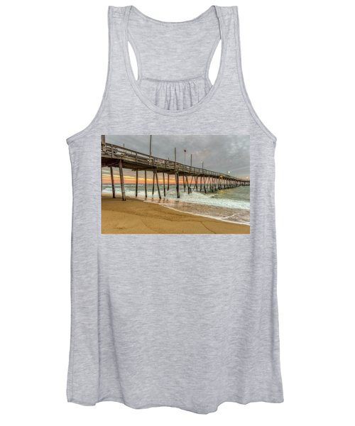 Avalon Pier - Kill Devil Hills Nc Women's Tank Top