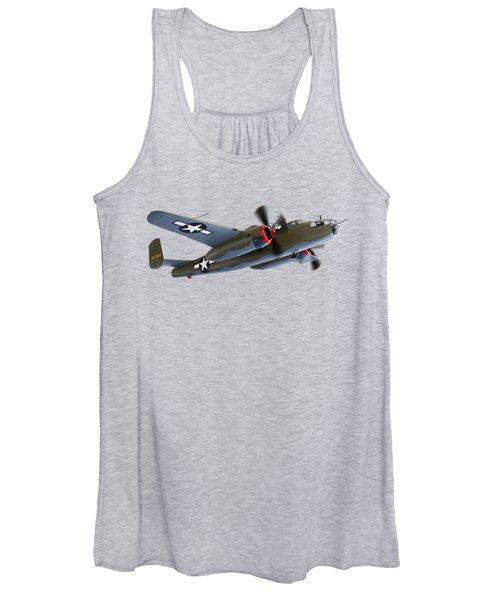 B-25 Mitchell Bomber Women's Tank Top