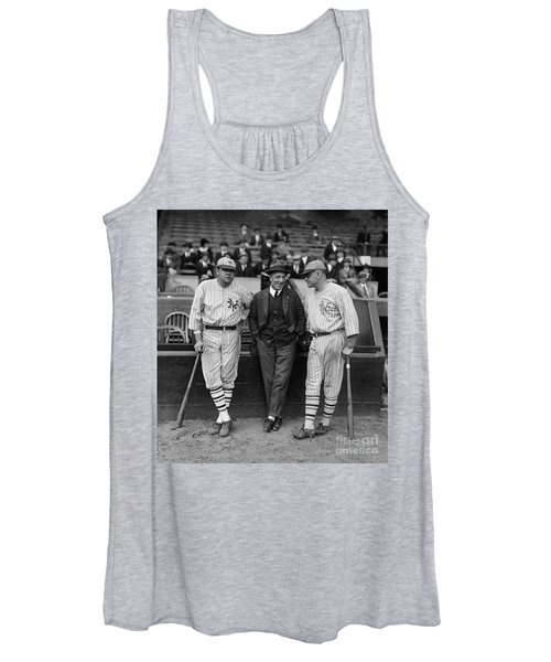 Babe Ruth And Jack Bentley 1923 Women's Tank Top