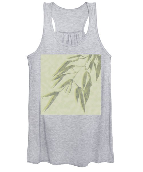 Bamboo Leaves 0580c Women's Tank Top