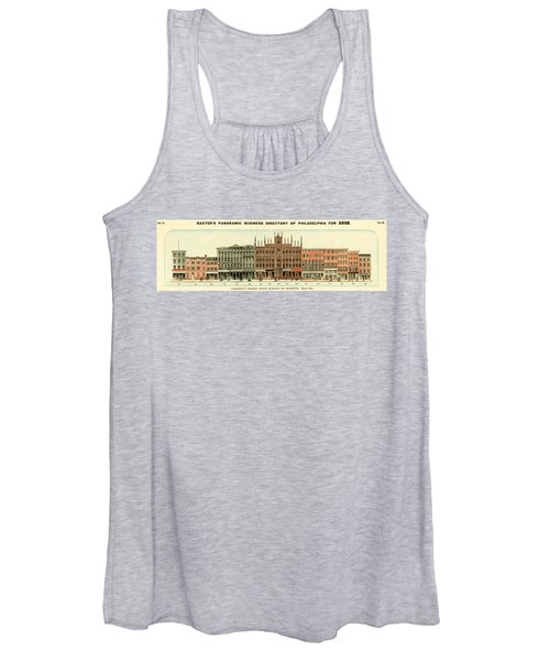 Baxter's Panoramic Business Directory Women's Tank Top