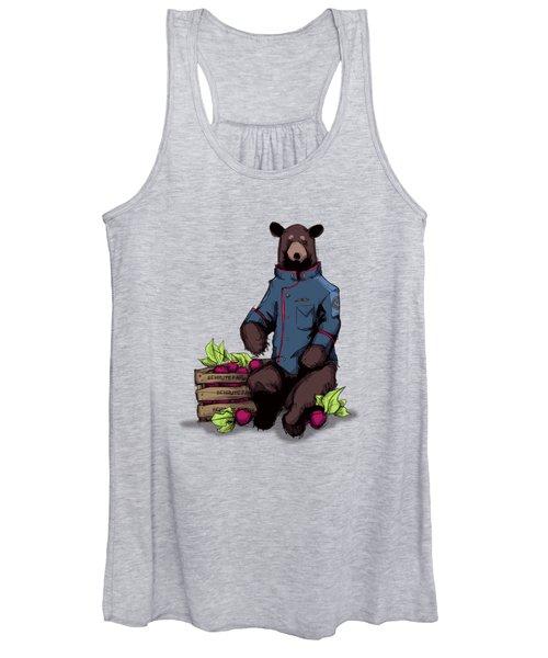 Bears Beets Battlestar Women's Tank Top