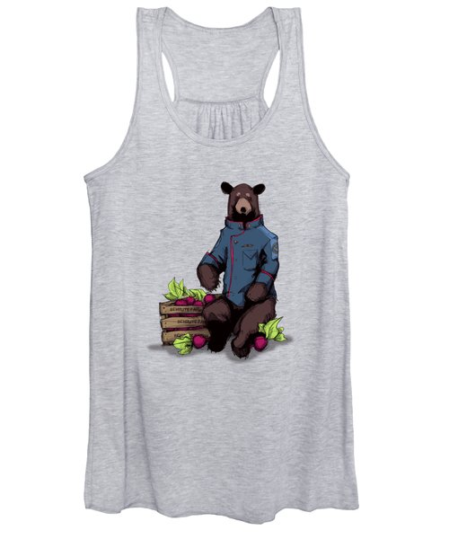 Bears Beets Battlestar Women's Tank Top