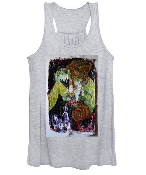 Beaten By A Monkey Women's Tank Top