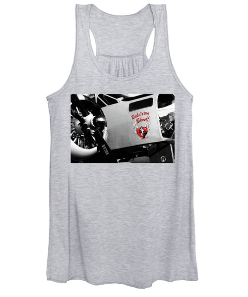 Beech At-11 In Selective Color Women's Tank Top