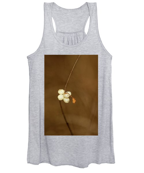 Women's Tank Top featuring the photograph Berries by Bob Cournoyer