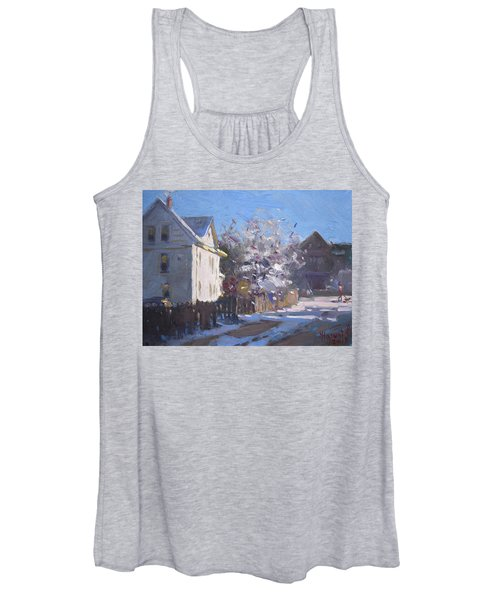 Blooming And Melting Women's Tank Top