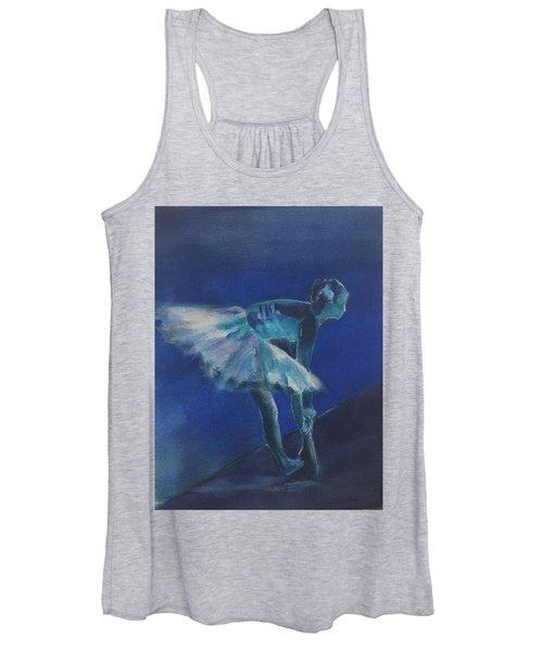 Blue Ballerina Women's Tank Top