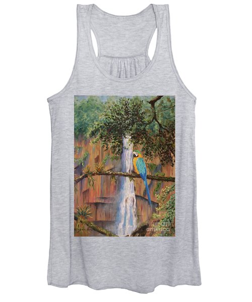 Blue Macaw Women's Tank Top