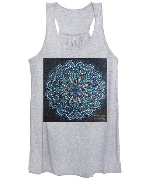 Blue Mandala Women's Tank Top