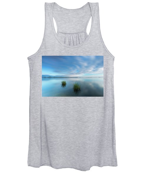 Blue Whirlpool Women's Tank Top