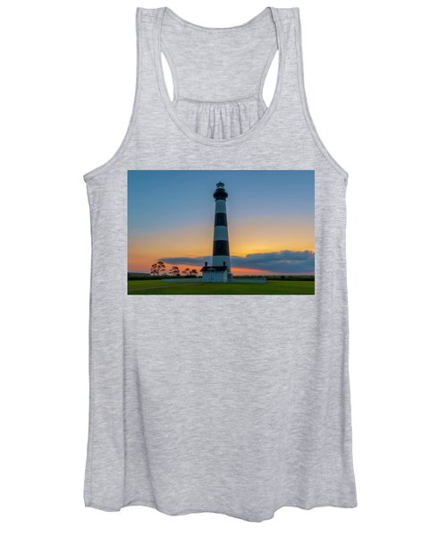 Bodie Island Lighthouse, Hatteras, Outer Bank Women's Tank Top