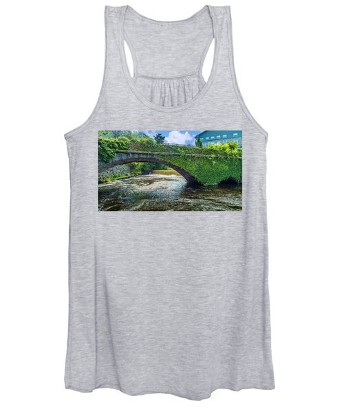 Bridge Of Flowers Women's Tank Top
