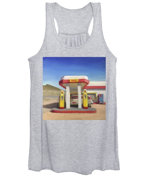 Broken Spoke Saloon, Lowell Women's Tank Top