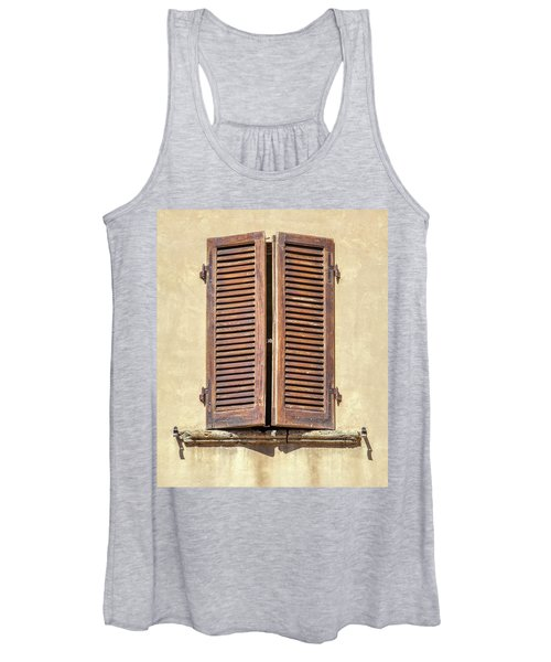Brown Window Of Florence Women's Tank Top