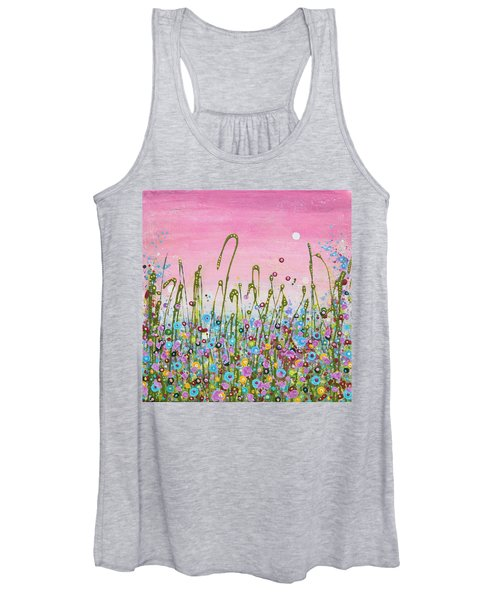 Buttercups And Lilacs Women's Tank Top