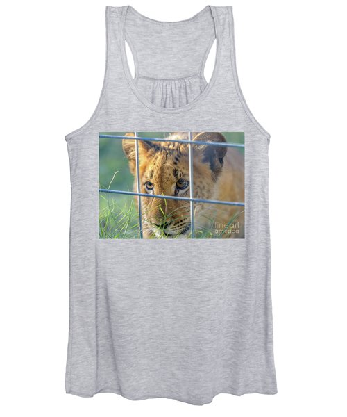 Caged Women's Tank Top