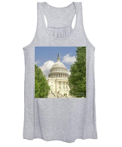 Capitol Building Washington Dc 2  Women's Tank Top