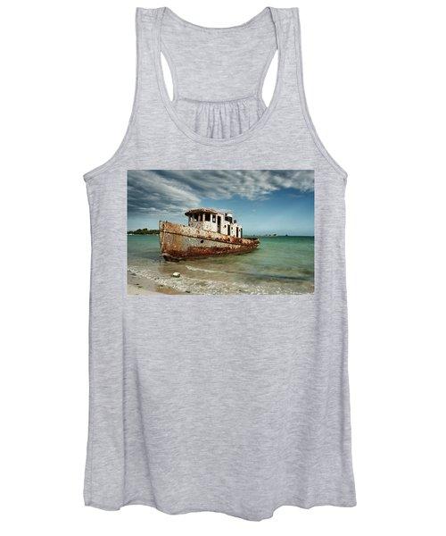 Caribbean Shipwreck 21002 Women's Tank Top