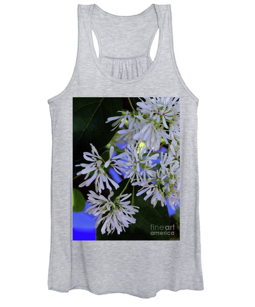 Carly's Tree - The Delicate Grow Strong Women's Tank Top