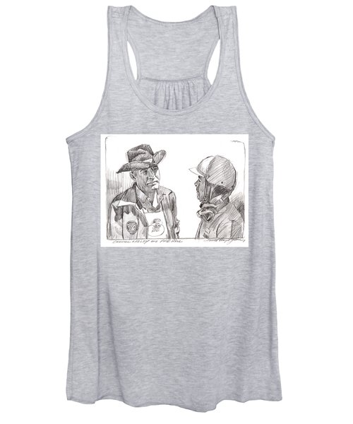 Carroll Shelby And Phil Hill Women's Tank Top