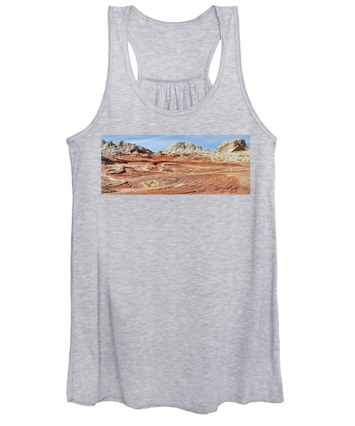 Carved In Stone Pano 2 Women's Tank Top
