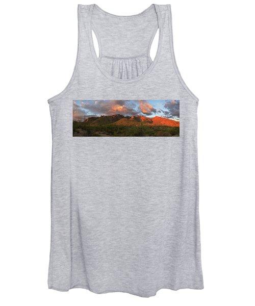 Catalina Mountains, Arizona Women's Tank Top
