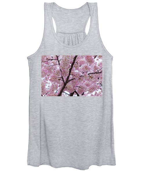 Cherry Blossoms 8611 Women's Tank Top