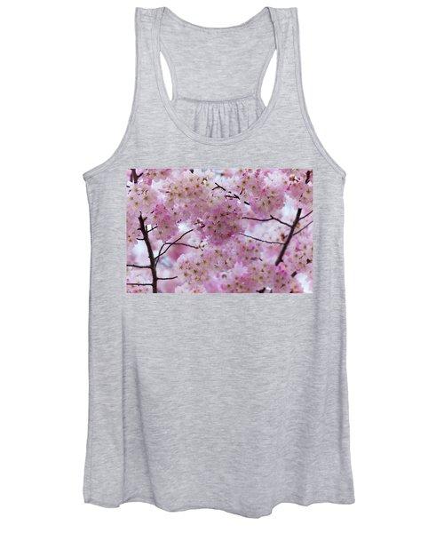 Cherry Blossoms 8625 Women's Tank Top