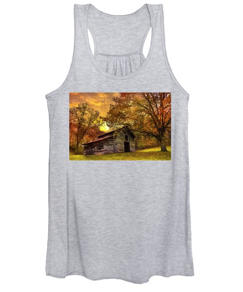 Chill Of An Early Fall Women's Tank Top