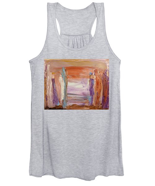 City Of Angels Women's Tank Top