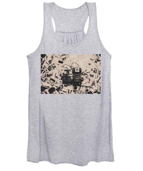 Classic Cameras And Captures Women's Tank Top