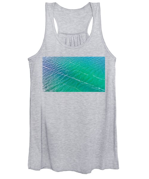 Clear Water Imagery  Women's Tank Top