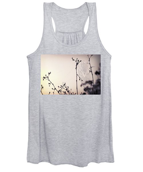 Cob Webbed Women's Tank Top