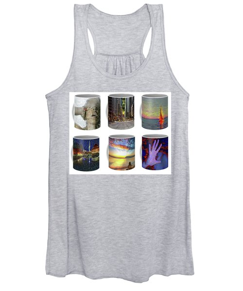Coffee Mugs Samples Women's Tank Top