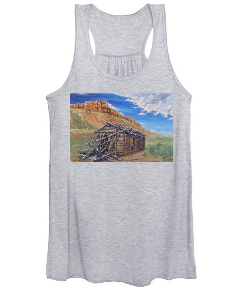 Colorado Prarie Cabin Women's Tank Top