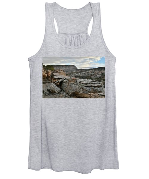 Colorful Overhang In Colorado National Monument Women's Tank Top