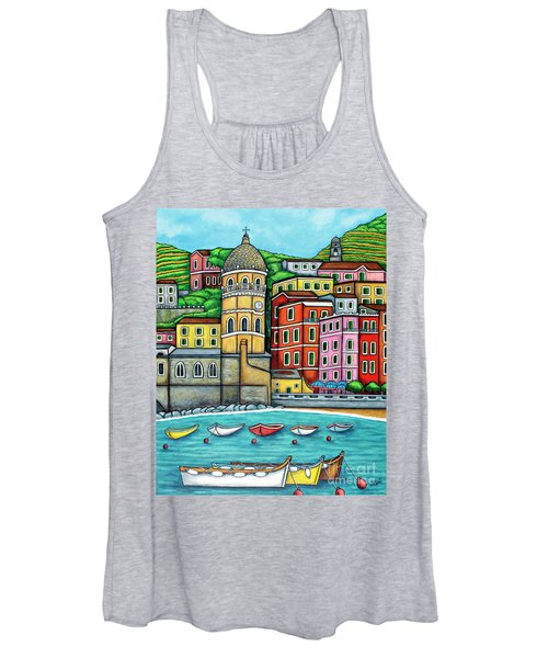 Colours Of Vernazza Women's Tank Top