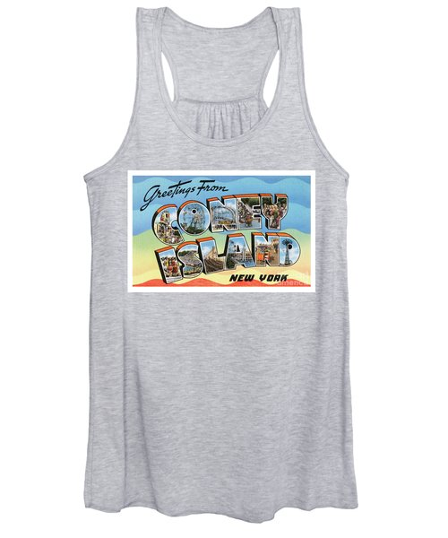 Coney Island Greetings - Version 2 Women's Tank Top